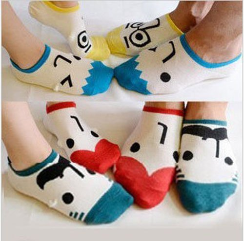 6pairs/lot Newest Men & Women Couple Casual Sock Slippers SOX Free Shipping