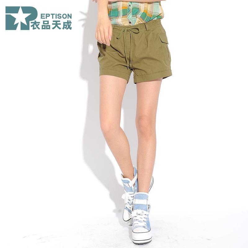 74 2012 AMIO women's casual shorts overalls female shorts 12k027