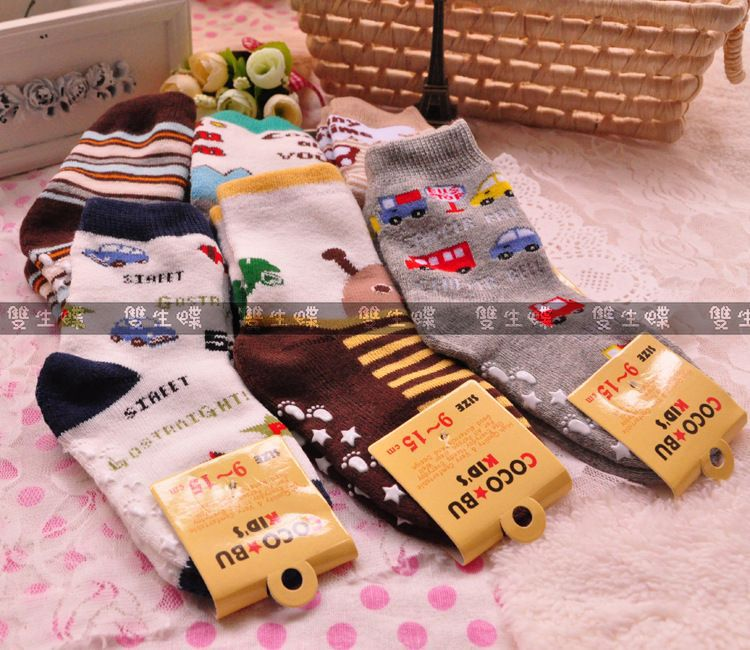 9-15cm terry children socks towel socks thickening models of foreign trade the male Tongwa day singl