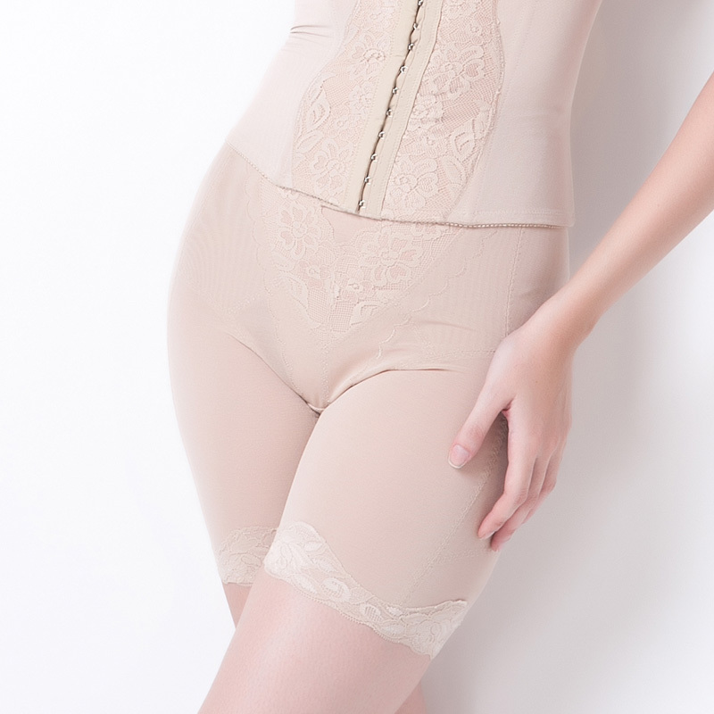 Abdomen drawing butt-lifting breathable adjustable body shaping pants underwear