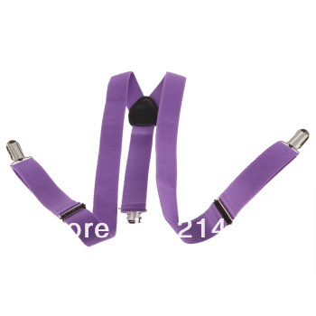 Adjustable Clip-on Unisex Pants Full Elastic and Y-back Suspender  Hot Selling