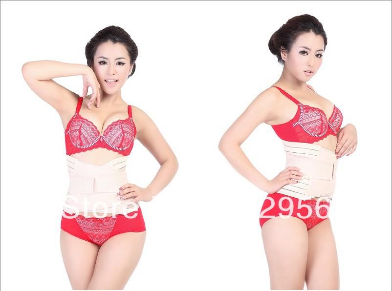 Adjustable Tummy Trimmers Waist Trimmer Belt Slimming Belt Body Building Shaper, free shipping