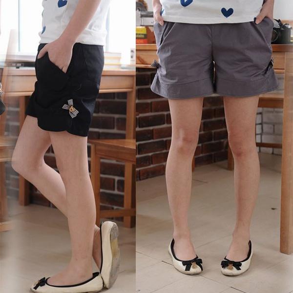 Alibaba express Summer maternity clothing maternity shorts summer maternity pants belly pants 1208