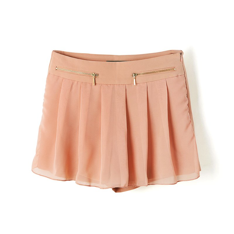 AM@ll Women! 2012 AMIO casual high waist Women single-shorts shorts pleated skirt trousers x7594