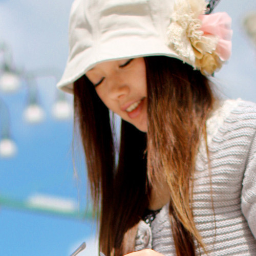 ANGELCITIZ spring and autumn female hat embroidery flower lace small fedoras am10008