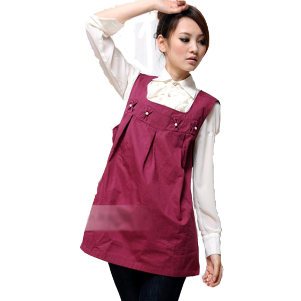 Apron radiation-resistant clothes autumn and winter maternity clothing anti morphism service plus size