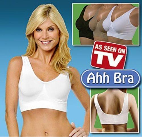 as seen on TV Free shipping 3pcs Sexy Seamless Rhonda Shear Slimming  Ahh bra Leisure Genie Bra - No box