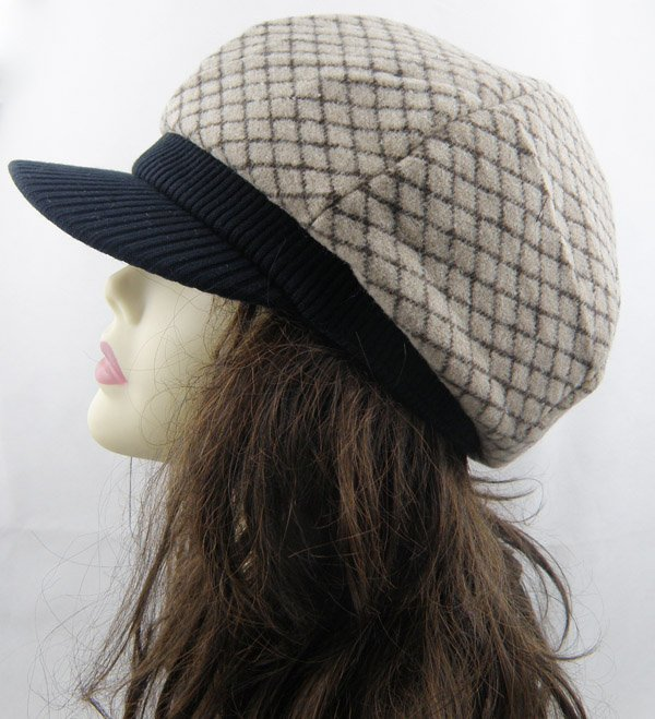 Autumn and winter Adult Newsboy Caps Couple hats B11082