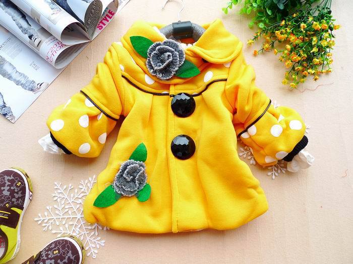 autumn and winter  child outerwear children coat girl jackets free shipping WT-011