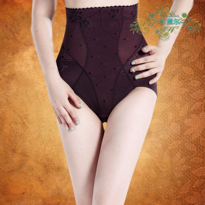 Autumn and winter thin seamless high waist body shaping pants butt-lifting pants body shaping panties drawing abdomen pants