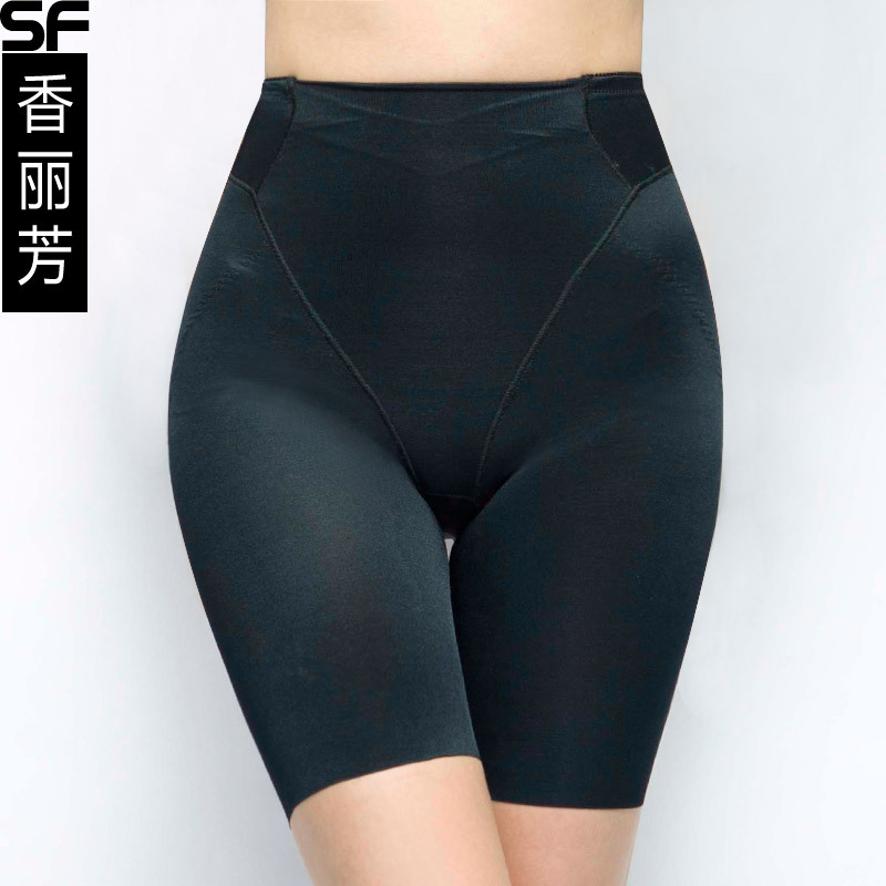 Autumn thin mid waist seamless women's abdomen drawing butt-lifting panties body shaping pants corset pants 2706