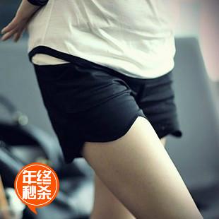 B0266 summer maternity clothing fashion wave laciness single-shorts shorts