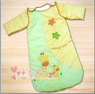 baby sleeping bag/sleepwear/Toddler sleeping bag sack/Baby sleeping bag filling with 100% cotton#8012