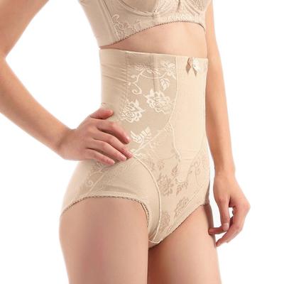 Bamboo high waist abdomen pants drawing thin waist butt-lifting body shaping pants beauty care panties corset pants