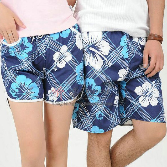 Beach pants shorts lovers beach pants stk107