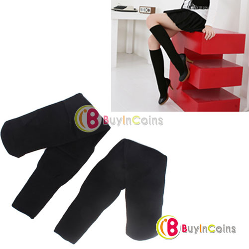 Black Women Over Knee Thigh High Socks Stockings New[6641|01|01]