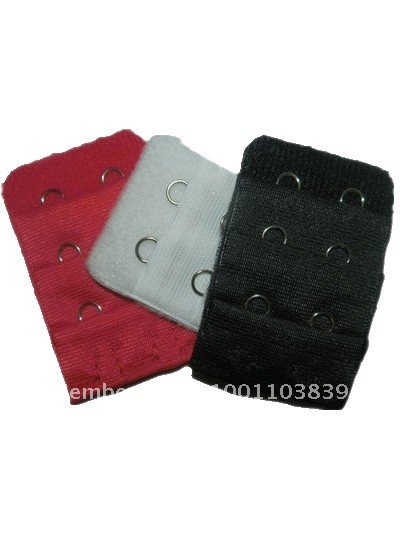 Bra Extenders Strap Extension 2 Hooks 3 Colors New 10pack(1pack=3pcs)~free shipping #8394