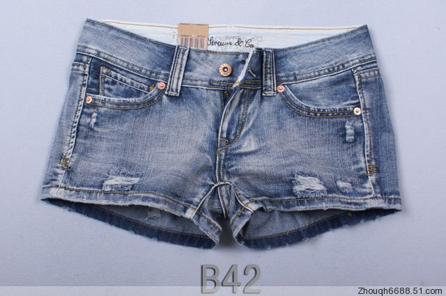 Brand new Lady denim shorts,women's jeans shorts,hot sale ladies' denim short pants size:26-32,free shipping B42