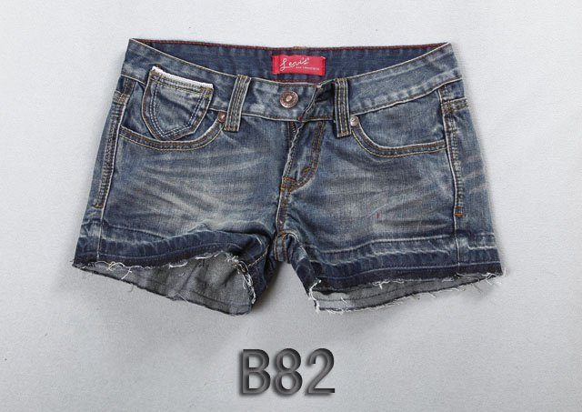 Brand new Lady denim shorts,women's jeans shorts,hot sale ladies' denim short pants size:26-32,free shipping B82