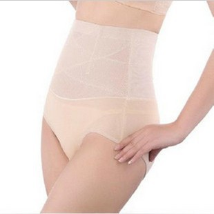 Breathable comfortable powerful drawing butt-lifting abdomen pants body shaping pants beauty care slimming briefs
