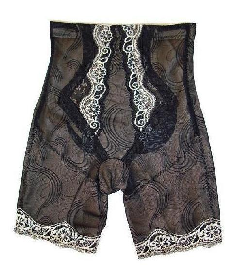 Breathable cotton abdomen drawing slender waist bottom high waist body shaping pants