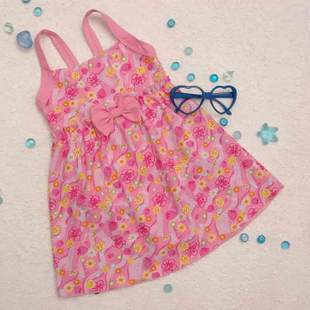 Bribed child swimwear female child girl one-piece skirt style swimsuit swimwear g106