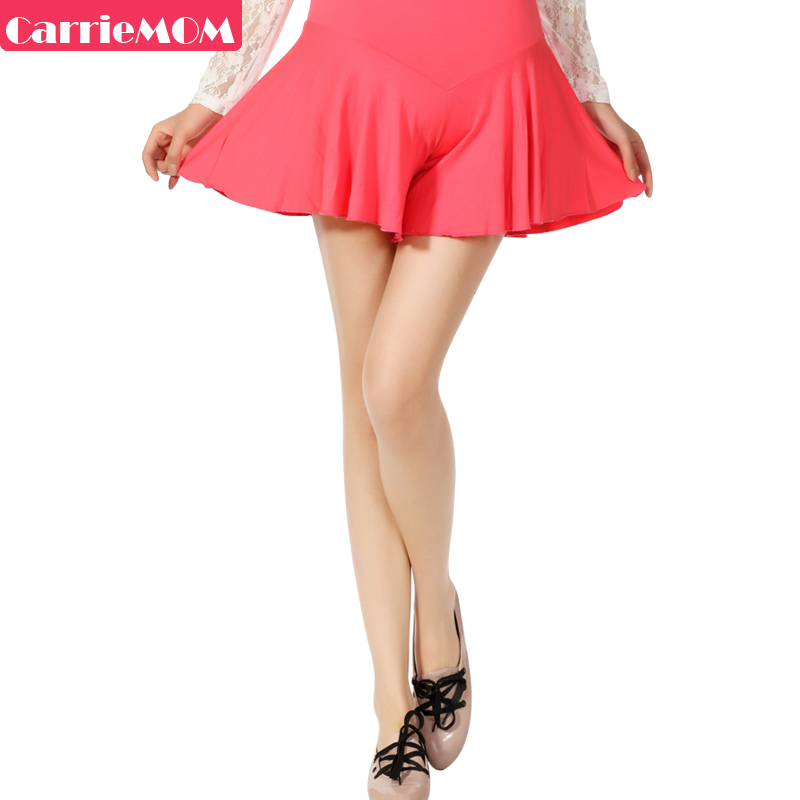 Carriemom maternity clothing spring maternity dress pants fashion spring and summer maternity legging multi-colored short skirt