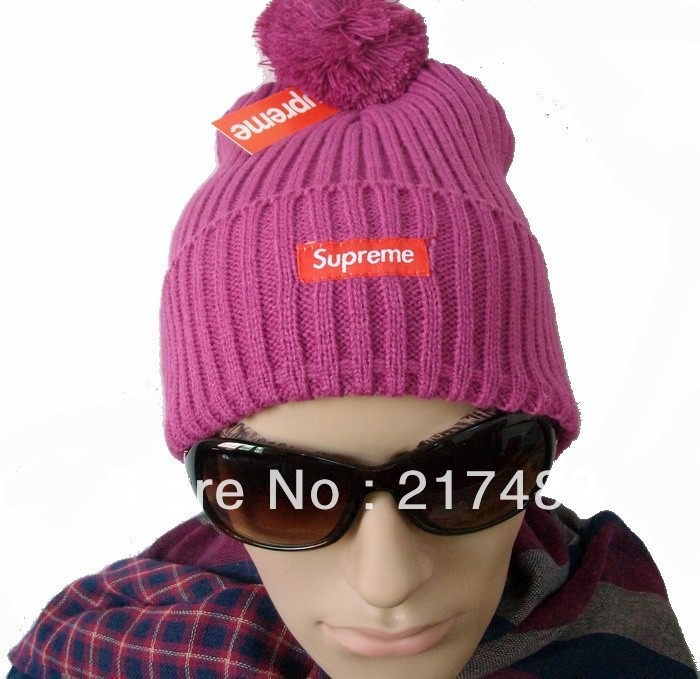 cheap Supreme Ribbed Beanie Hats Match The Desires Of Everybody purple freeshipping!