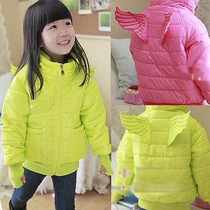 Children's clothing 2012 female child winter back child wadded jacket cotton-padded jacket baby cotton-padded jacket cy5305