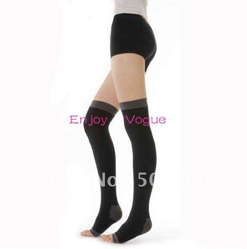 Christmas promotional gifts women's/ladies classic medical/compression/varicosity/thin leg knee high sleeping leg warmers/socks