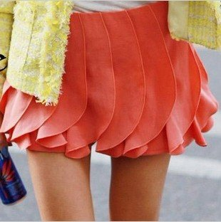 Clearance Sale Fashion Women's Candy Color Chiffon Shorts  Pants Skirts  Available in 2 colors 2 Sizes Free Delivery