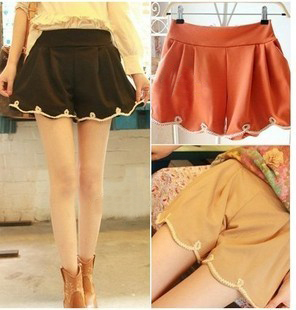 Clothes all-match basic shorts crochet short skorts sexy clothing clothes female