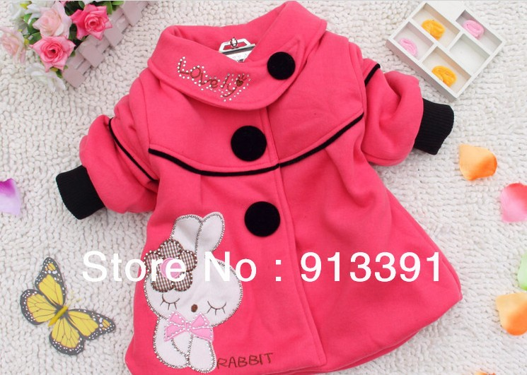 Clothing female child outerwear 2013 autumn 100% cotton velvet baby outerwear female child sweatshirt baby overcoat trench