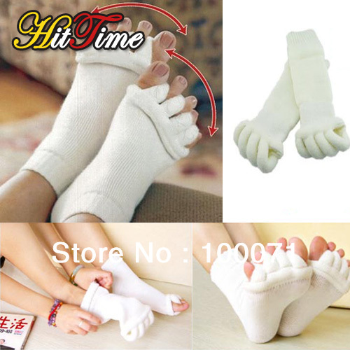 Comfort Foot Toes Alignment Socks Stretch Tendon Relieve Pain Feet for Men Women  [23564|01|01]