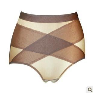 Comfortable summer breathable thin body shaping fat burning abdomen drawing butt-lifting seamless panties body shaping pants