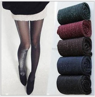 Core wire shift up thin paragraph Skinny sexy pantyhose 4 color,fashion filamentary silver women tights Silk stockings