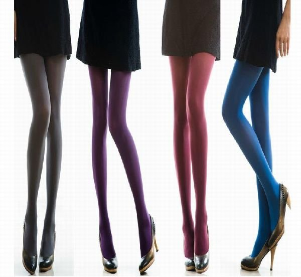 [CPA Free Shipping] Wholesale Fashion Womens 120D Thick Warm Velvet Tights Pantyhose / Sexy Legging Socks 20pair/lot (SM-28)