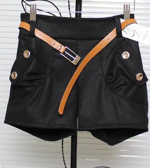 Cultivate Korean Four Button New Woolen Women Pants