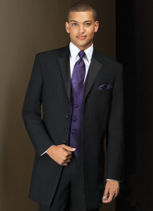 Custom made black Groom tuxedos Best man Suit Wedding Groomsman/Men Suits Bridegroom (Jacket+Pants+Tie+Waistcoat)