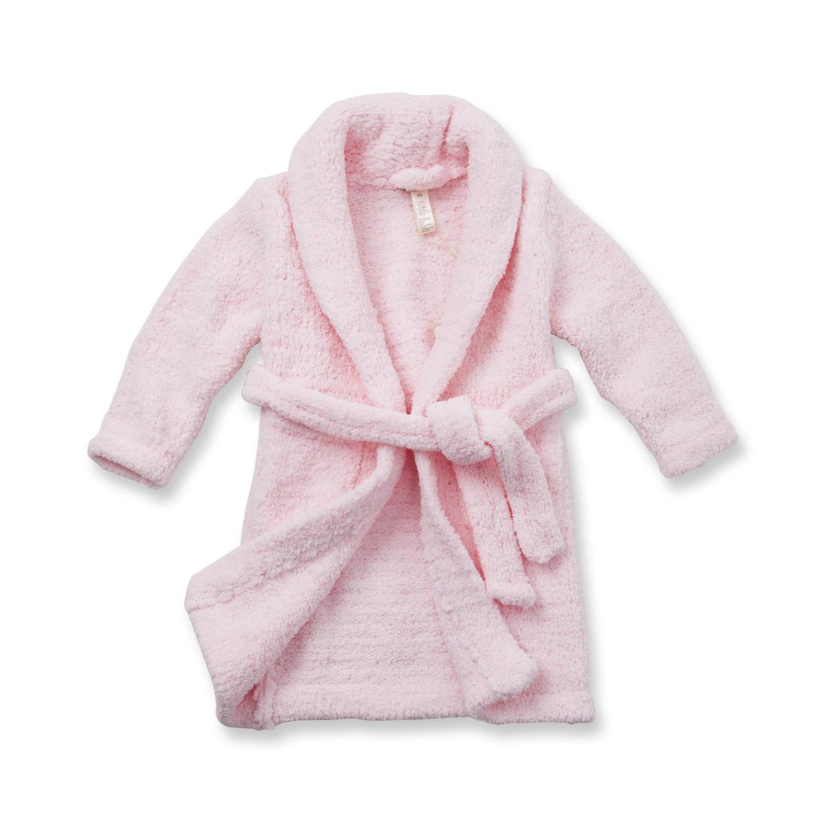 Davebella 2012 autumn and winter ultra soft chenille baby thermal sleepwear robe baby sleepwear 138