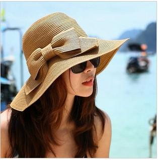 Dayan Mao beach hat  sun hat female summer straw hat foldable free shipping