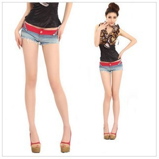 Discount low-waist women's shorts jeans, personality patchwork on sale Sexy shorts women for summer, free shipping