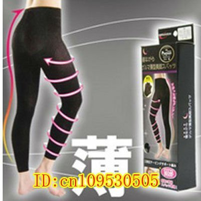 Do promotion! Black M Thin Type Cropped Pants Abdomen In * Lift Buttocks * Slim Legs