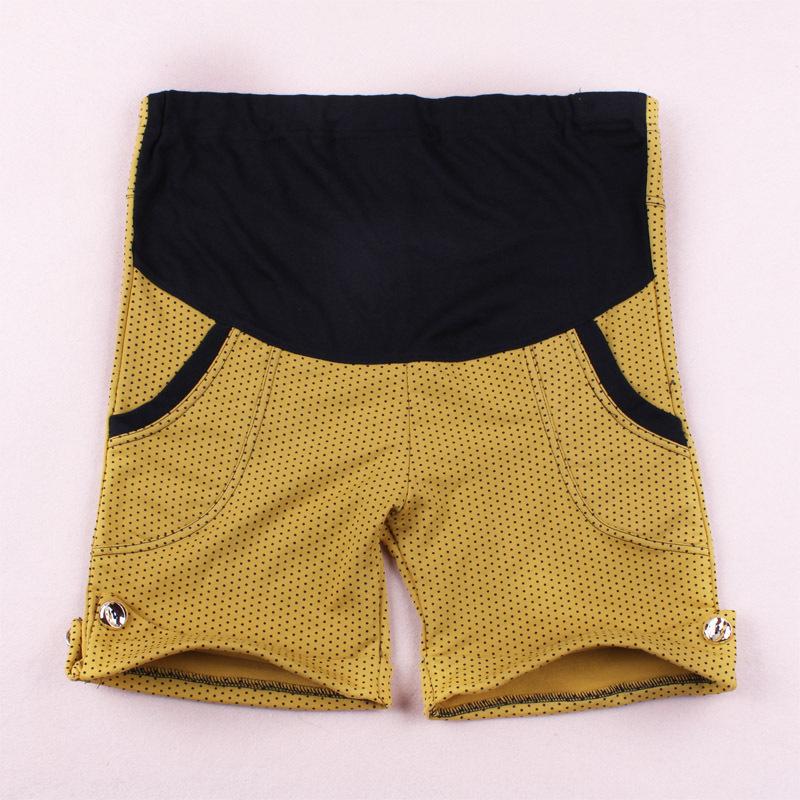 Don cotton - dc101 summer maternity pants dot fashion all-match belly pants chromophous shorts