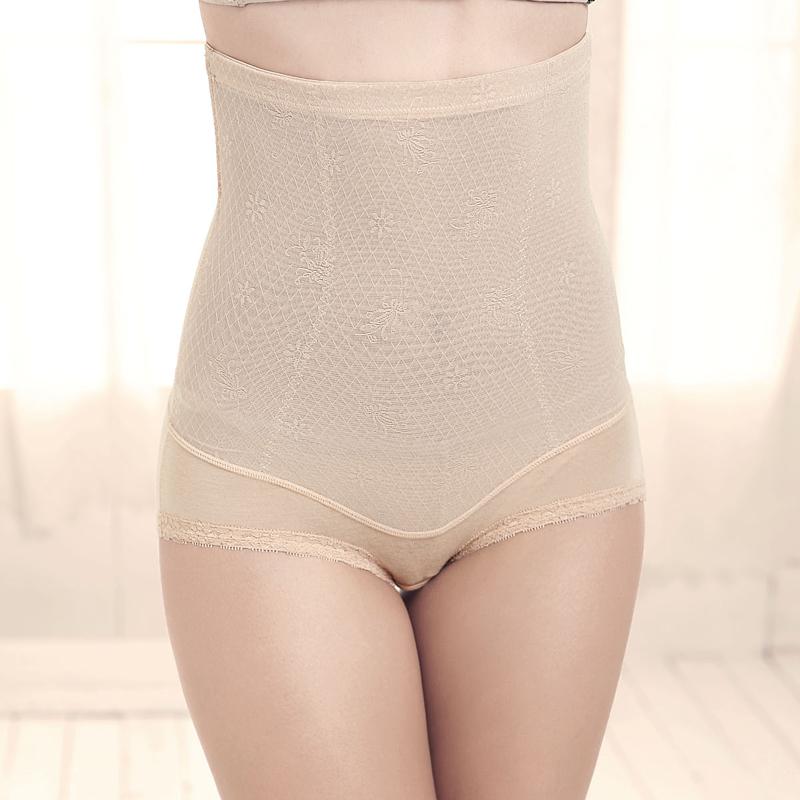 Drawing butt-lifting abdomen corset seamless beauty care women's high waist panties comfortable breathable s0817
