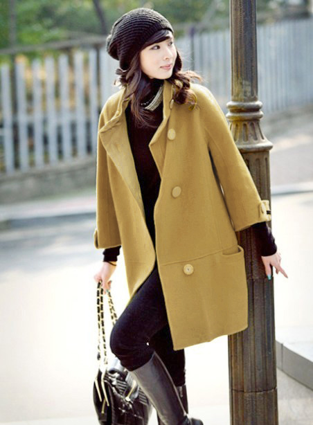 Elegant maternity outerwear maternity clothing winter autumn and winter tianxi 2268 maternity overcoat