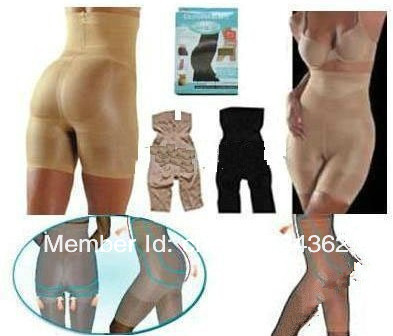 EMS Free Shipping TV Slim n lift/Slim Pants,Beige and black Body Shaper,underwears,slimming products, women slimmer,gift