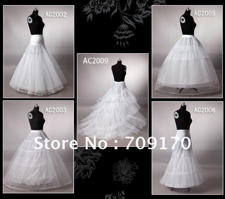 Essential accessories of the bride wedding professional wholesale bridal petticoat / gloves / veil / Bridal shawl / jacket