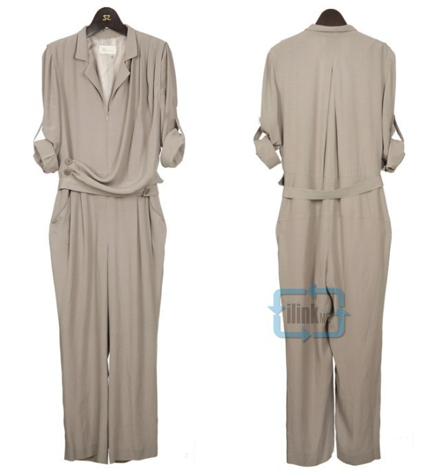 Euramerican Vogue Chiffon Casual Long sleeves Jumpsuit Romper Pants