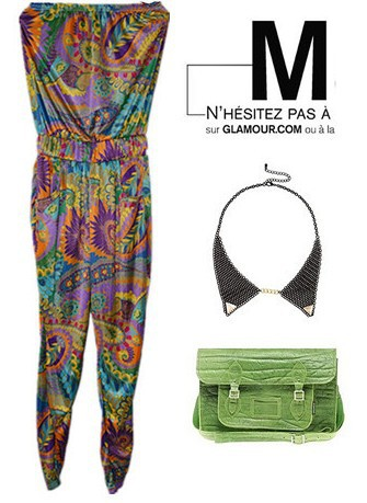 Europe and the United States shall , Ms. coveralls pants , fashion mix and match , national wind color feathers Jumpsuit